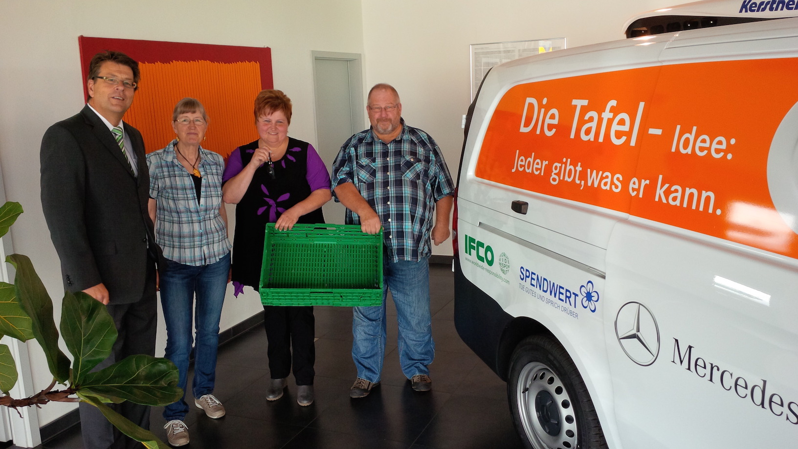 IFCO supports Food Bank Kappeln with Vehicle Sponsoring