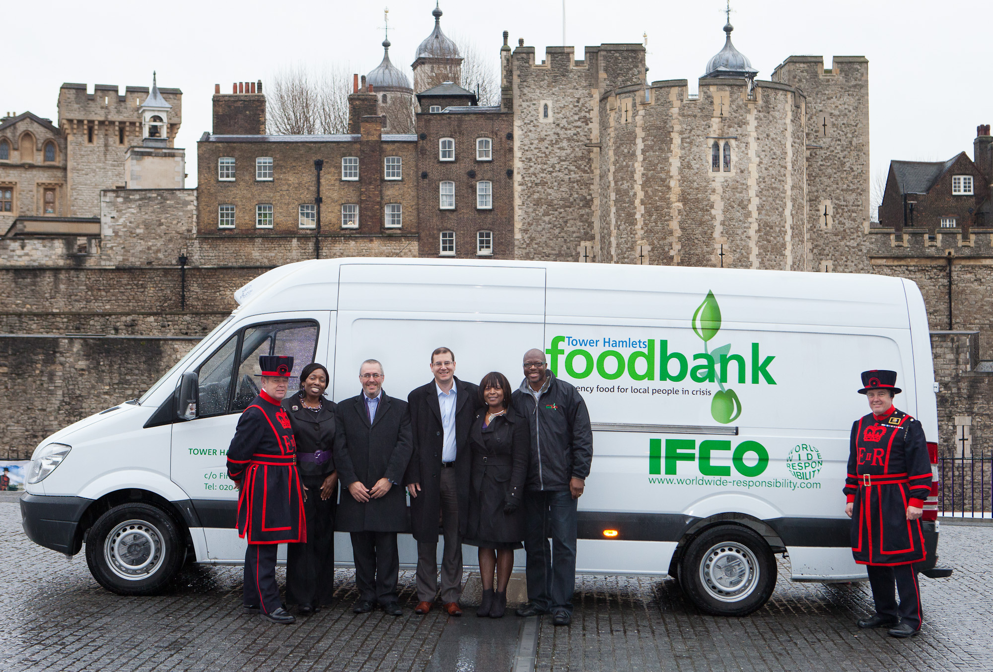 IFCO supports the Tower Hamlets Foodbank
