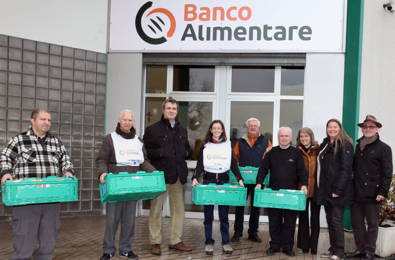 IFCO supports the Banco Alimentare